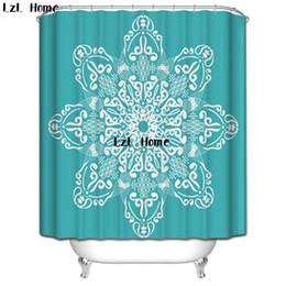 Canada LzL Home Fancy Flower Butterfly Rideaux De Douche Coloré Imprimé Custom Rideau Pour Salle De Bains Imperméable Polyester Rideau De Douche supplier custom print shower curtain Offre