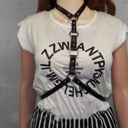 abbigliamento gotico Sconti LNRRABC punk gotico stile harajuku fatti a mano  in ecopelle cinghie cintura vita cb3f2fa8a340