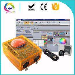 máquina de chama dmx Desconto Sunlite Suite2-FC 3x512CH Dmx512 USB Sistema de Controle de Desktop, aplicar para Windows7, Windows8, Windows10, Uso Para o Programa de Edição Do Estágio Lighti