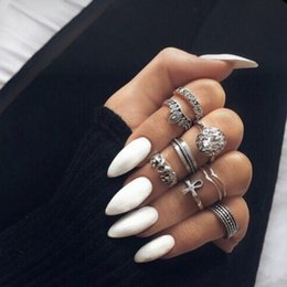 Matte Solid Pure White Stiletto Fake Nails Almond Pointed Press On Oval White Frosted False Nail Full Cover False Nails