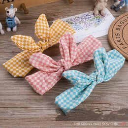 Wholesale headbands for toddlers girls - Flower Toddler Fashion Baby Girls Accessories Bowknot Hairband Lovely Headband Turban Knot For Girl Head Wraps Best Gift