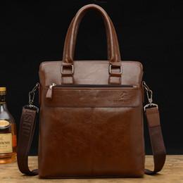 87e2401a77 Sac à bandoulière unique en cuir vertical sac à main en cuir de vachette  hommes occasionnels sac oblique mallette d'affaires sac de mallette vertical  pas ...