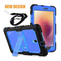 Wholesale Waterproof Skin Ipad Air - Shockproof kids Protector Case for iPad Mini Armor Robot Full Body PC Silicone Protective Cover Case for iPad Mini1 2 3 mini 4 pro 9.7 air 2