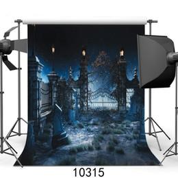фотосъемка Скидка Фото фоны для фотостудии Хэллоуин кладбище виниловые фотографии фонов для детей партии съемки