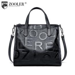 33dd4cadc0 2019 Fashion Classic ZOOLER 2018 NEW LETTER borse a tracolla borse delle  donne del progettista borsa in vera pelle COWHIDE borse bolsa feminina #  D135