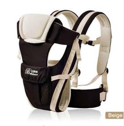 Porta zaino online-Neonato 0-30 mesi anteriore traspirante Marsupio 4 in 1 Infant comodo Sling Backpack Pouch Wrap Baby Kangaroo