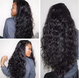 Wholesale Silk Top Kinky Lace Wigs - Silk Top Curly Wig Glueless Human Mongolian Virgin Silk Base Kinky Wig For Black Women Kinky Curly Silk Top Full Lace Wig