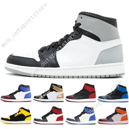 1s OG 1 top 3 mens basketball shoes Homage To Home Banned Bred Toe Black  White Chicago Game Royal Blue Fragment men sport sneakers trainers d73f4b5bc