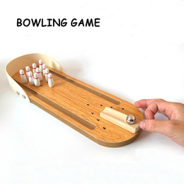 Wholesale Develop Board - Adult Fun Mini Desktop Bowling Children Game Toy Goal Balls Table Baby Kids Training Board Game Outdoor Sports Play Sensory Toys