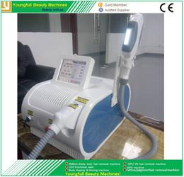 Wholesale new laser hair removal - Latest popular OPT SHR laser beauty equipment new style SHR IPL machine OPT RF IPL hair removal beauty machine Elight Skin Rejuvenation