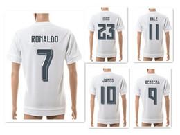 ronaldo jersey al por mayor Rebajas Venta al por mayor 15-16 temporada 7 # RONALDO camisetas de fútbol atlético camisetas, camisetas de fútbol de entrenamiento, fútbol personalizado de calidad superior Tops de fútbol