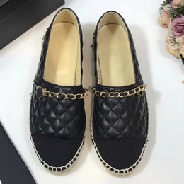 Wholesale red closed toe heels - Summer Women Flats Denim Canvas Shoes Maternity Casual Women Espadrilles Flat Heel Shoes Plus Size Women's Canvas Shoes C size35-42