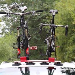 Tetto della bicicletta online-Portabici da tetto PALFA Tettoia da tetto Portabici da auto Portabici a montaggio rapido Portapacchi per accessori MTB Mountain Road Bike