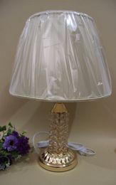 Wholesale Luxury Lamp Tables - romantic european luxury Crystal Table Lamp Modern Art For Bedroom Living Room Bedside Lamp