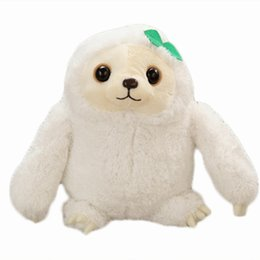 Lame giocattoli online-Bambola della bambola della peluche di accidia Bambino Simulazione sveglia Simulazione animale Cuscino di bradipo animale riempito bambola Simulazione Festa regalo di compleanno Giocattoli per bambini