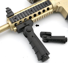 Wholesale vertical mount - Tactical folding Vertical Fore Grips Fits for Rail Mount 20mm weaver Rail