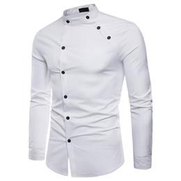 Camicie a doppio petto online-Camicie casual da uomo Camicie da uomo Camicie da uomo Maglietta da uomo Camicie da uomo