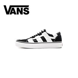 ba7b7733cd6 old baseball Promo Codes - 2018 Athentic Vans ® Off The Wall WHITE Old  Skool Canvas