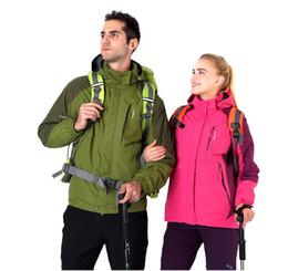 Roupas de gelo seco on-line-Terno de esqui Jaqueta Casal Blusão de Snowboard Respirável Homens e Mulheres Jaqueta Esportes Caminhadas Nevando Outing ice sports universal clothing