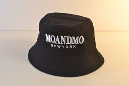 5951461a7f3 GD BIGBANG Black Cotton Casual Bucket Hat Men s Women Embroidery Fishing  Fisherman Hat Wide Brim Caps MOANDMO Hip Hop Sport Hats