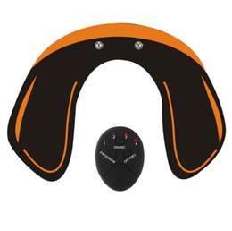 Entrenador de control remoto online-EMS Intelligent Hip Trainer Nalgas Máquina de elevación Recargable o Batería Belleza Masaje Máquina de Relajación Control Remoto Envío Gratis