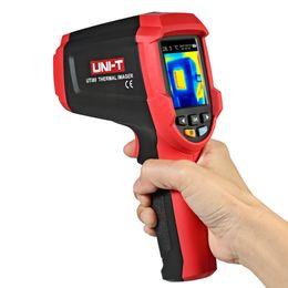 Argentina UTi80 Termómetro Infrarrojo cámara termográfica digital instrumentos de temperatura -30-400 C cámara pirómetro Termómetro Tester cheap digital camera tester Suministro