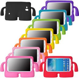 2019 cajas metálicas para niños Para iPad 2/3/4/5 Mini Air Kids Funda protectora a prueba de golpes de tableta EVA Soporte Funda protectora cajas metálicas para niños baratos