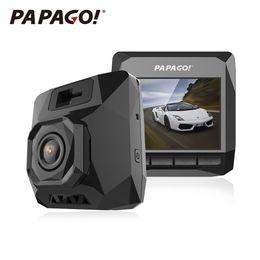 Wholesale D1 Dvr - Wholesale-PAPAGO D1 Car DVR PPG 8030 Dual Core Dash Cam 1440P 2.0 inch 145 Degree Angle Car-styling Dvrs DashCam Video Recorder Camcorder
