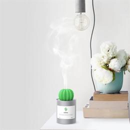 Canada Cactus Air Humidificateur À Ultrasons Humidificateurs 280 ML Mist Maker Aromathérapie Diffuseur Aroma Mist Maker Accueil Livraison Gratuite Offre