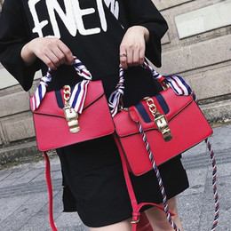 Wholesale Red White Stripe Bead - 2018 Luxury designer handbags shoulder bags naval bag crossbody backpack handbag lady Backpack Laptop boston Women purse wallet 180502001