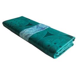 Canada Tissu Guinée Africaine en Brocart Shadda Bazin Tissu Fashion Brocart Vert Tissu Bazin Riche Lace cheap african damask Offre