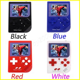Wholesale free bite - CoolBaby RS-6 Portable Retro Mini Handheld Game Console 8 bit Color LCD Game Player For FC Game free DHL A-ZY toys