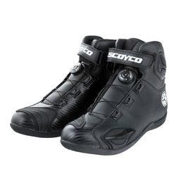 Kentsel Motosiklet Boots Botas Moto Motociclista Stivali Motocross Bottes MBT010A Erkekler Kadınlar Yol Oto Sürme Yarış Ayakkab ... nereden otel terlikleri tedarikçiler