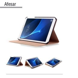 2019 compressa protetta Custodia per tablet Samsung Galaxy Tab A 7.0 SM-T280 SM-T285 (7 pollici) Custodia in pelle per PU compressa protetta economici