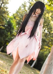 Wholesale Swords Costumes - Kukucos Sword Art Online Artificial Intelligence Yui Cosplay Costume Lovely Lolita Dress