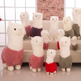 SıCAK Gökkuşağı Alpaka Peluş Bebek Oyuncakları Sevimli Llama Alpacasso Doldurulmuş Oyuncaklar Japon Doldurulmuş Hayvanlar Doll Çocuk Çocuk Hediye OTH893 nereden