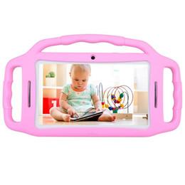 """Tablet pc hd bildschirm online-2018 Neue Kinder Tablet PC Android 7.1 Kinder Tablet 7 """"HD-Bildschirm 1 GB / 8 GB Babypad Edition PC mit WiFi und Dual Camera Play Games"""