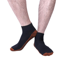 Wholesale leg slimming socks - 5PCS Unisex Miracle Copper Anti Fatigue Compression Socks leg slimming comfortable Tired Achy unisex soft men's socks