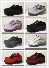 Purple shoes para la venta online-2018 Sale barato VaporMax Fly Knit  Running zapatos casuales aed390fbf2a