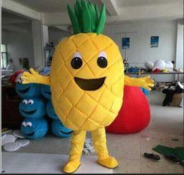 Wholesale making cartoon movies - 2018 Fruit mascot costume Pineapple cartoon costume adult children party fancy dress