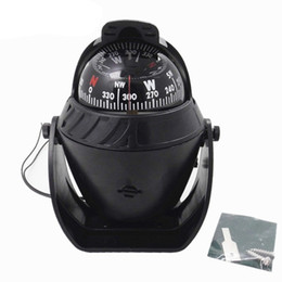 Wholesale Use Boats - Plastic LED Light Sea Marine Compass Electronic Digital Compass Boat Caravan Truck Lighted for night Use
