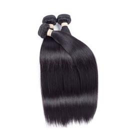 El pelo humano recto brasileño al por mayor embragues la trama natural del pelo del color Extensiones malasias indias peruanas del cabello humano 100% peruano desde fabricantes