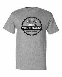 waterproofing companies UK - [Your Name] Brewing Company | Funny Customized Homebrewing Unisex Beer T-Shirt