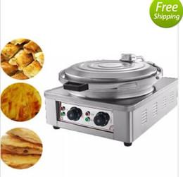 Pentola di cottura elettrica commerciale / doppio pancake del riscaldamento che fa macchina / pancake elettrico Pancake Prezzo MYY da scaldasalviette da cucina fornitori
