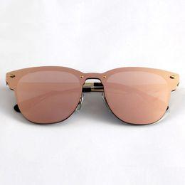 Wholesale Clear Club - Newest Designer Club Fashion Sunglasses Men Sun Glasses Women Retro Green G15 Mercury lens New Hinge with Original Leather Box 357N