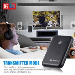 Wholesale Bluetooth Adapter For Tablet - 3.5mm Wireless 2 in 1 Bluetooth 4.2 Receiver Transmitter Receiver Adapter Music A2DP For Computer Tablet PC TV Mp3