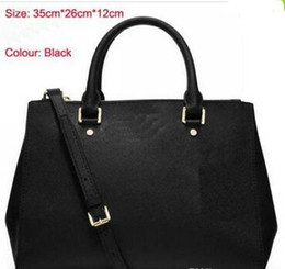 Wholesale Diamante Purses - 2018styles Handbag Famous Designer Brand Name Fashion Leather Handbags Women Tote Shoulder Bags Lady Leather Handbags Bags purse AA6616