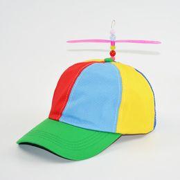 Helicóptero Helix Helicóptero Adulto Colorido Sombrero de Libélula de Bambú  de Patchwork de Colores Niños Niñas Snapback Sombrero de Papá Noel Ofertas  de ... 6d8aa30d9e5