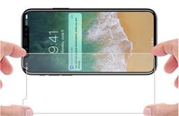Para iphone x 8 vidro temperado anti-scratch protetor de tela para iphone 7 plus 0.26mm protetor de tela de alta definição 2.5d 9 h de