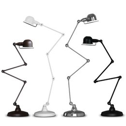 Wholesale Mechanical Arm - modern retro Loft segment type Jielde mechanical arm floor lamp E27 110-240V for Home Parlor Dining Room